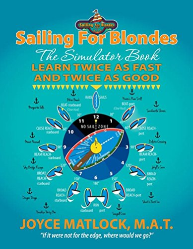 Sailing For Blondes: The Simulator Book, Learn Twice as Fast and Twice as Good (English Edition)