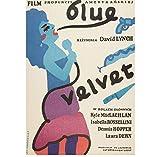 ZOEOPR Poster Blue Velvet Classic Filmreihe Poster