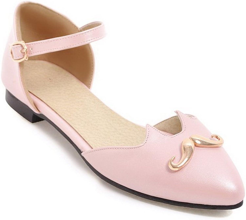 BalaMasa Womens Sandals Herringbone Cold Lining Light-Weight Urethane Sandals ASL04468
