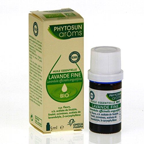 Phytosun - Huile Essentielle De Lavande Fine Bio - Flacon De 5 Ml