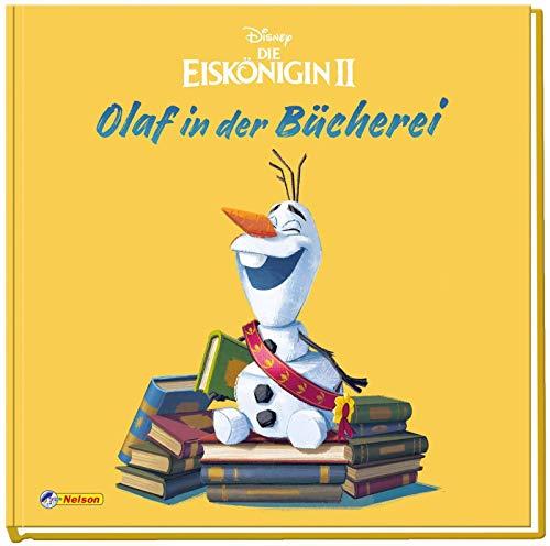 Disney Die Eiskönigin 2 - Olaf in der Bücherei: Bilderbuch mit Glitzer (Disney Eiskönigin)