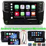 Autoradio RCD330+,Carplay,MirrorLink,Android Auto,BT,USB,MP3 Player für VW Skoda Without GPS