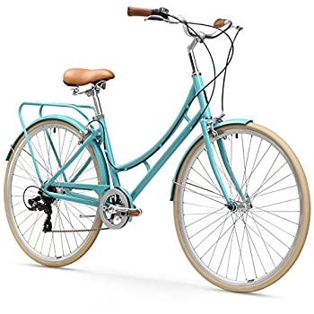 sixthreezero Ride in the Park Women s 7-Speed City Road Bicycle Blue 17  Frame/700x32c Wheels