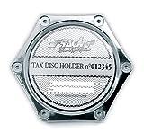 SIMONI RACING PBSR/X Porta Assicurazione, Alluminio Cromato...