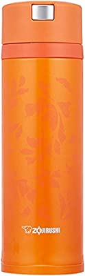 象印 ( ZOJIRUSHI ) 水筒 ステンレスマグ 480ml ビビッドオレンジ クイックオープン&イージーロック SM-XC48-DV