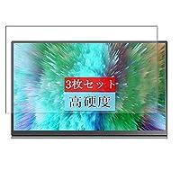 3枚 Sukix フィルム 、 Aosiman ASM-156UC 15.6 Inch ディスプレイ モニター 向けの 液晶保護フィルム 保護フィルム シート シール(非 ガラスフィルム 強化ガラス ガラス ) new version