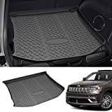 Mixsuper Rear Cargo Liner 3D Upgrade Anti-Slip Durable Odorless Trunk Floor Mat for 2011-2021 Jeep Grand Cherokee Not Fit for Jeep Cherokee