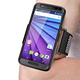 Moto G 3rd Generation Armband, SUPCASE Easy Fitting Sport