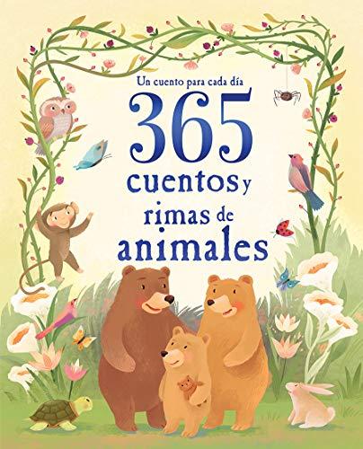 365 Cuentos Y Rimas de Animales (Children's Spanish Language...