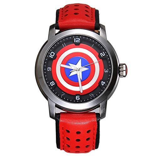 Towel Rings Vengadores Capitán América Shield Watch Cool Boy Watch