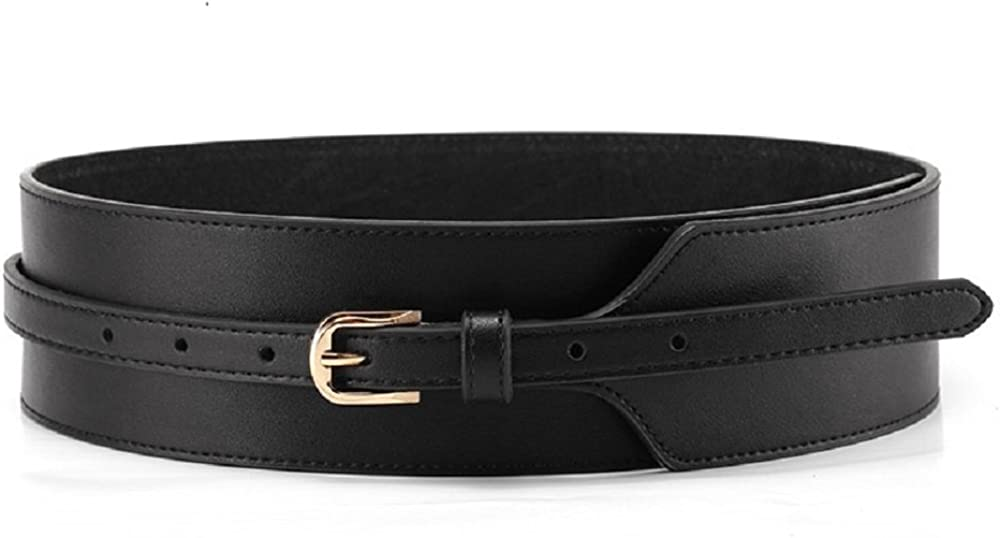 women Leather Belt Vintage wide leather belt Genuine leather accessories brown leather belt Vintage Corset belt Waist leather belt S black