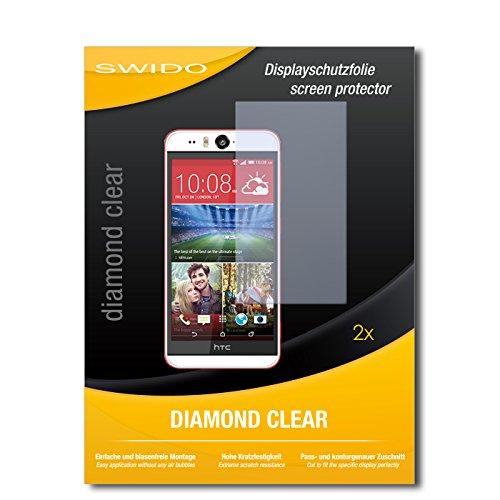 2 x SWIDO® Bildschirmschutzfolie HTC Desire Eye Schutzfolie Folie