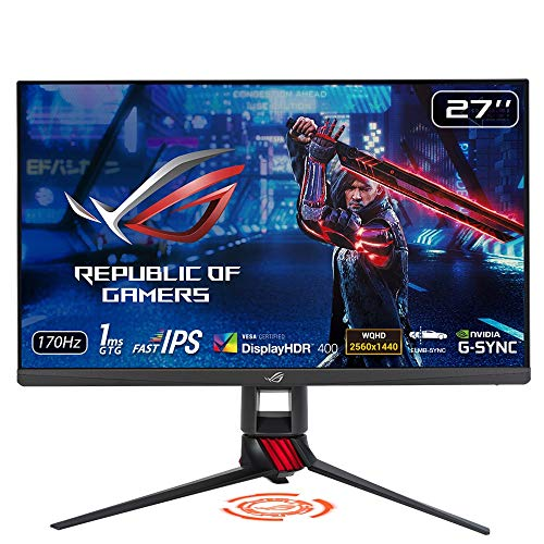 ASUS HDRゲーミングモニター ROG STRIX XG279Q 27インチ IPS 170Hz 1ms G-SYNC Compatible DisplayHDR400 ELMB SYNC