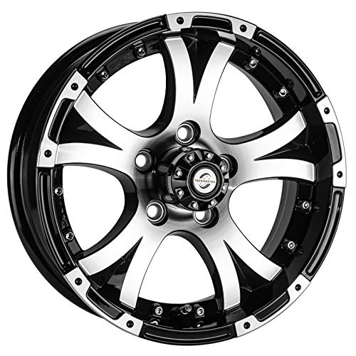 3.19CB eCustomrim Trailer Wheel Rim 15X5 J 5-4.5 White Spoke 2150 Lb