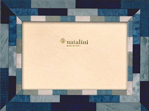 Natalini Mira Blu\b\a - Cornice per foto, in legno/vetro, Blu, 23x18x1,5 cm