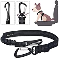New Generation --- The SlowTon dog seat belt is directly connected to the vehicle's latching lever through the LATCH hook, which avoids the danger of accidental release of the conventional seat belt due to being stepped on. The carabiner which connec...