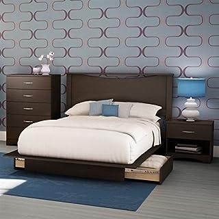 Amazon.com: Brown - Bedroom Sets / Bedroom Furniture: Home ...
