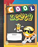 Cool Lefty Left Hand Composition Notebook: Emoji Left Handed Wide Ruled Non Spiral Blank Lined Paper Journal Book For Elementary Students To Write In Left Handed School Supplies For Kids