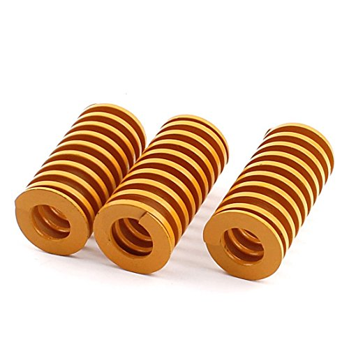 uxcell Metal Mechanical Spiral Compression Coil Die Spring 20mm x 40mm 3pcs