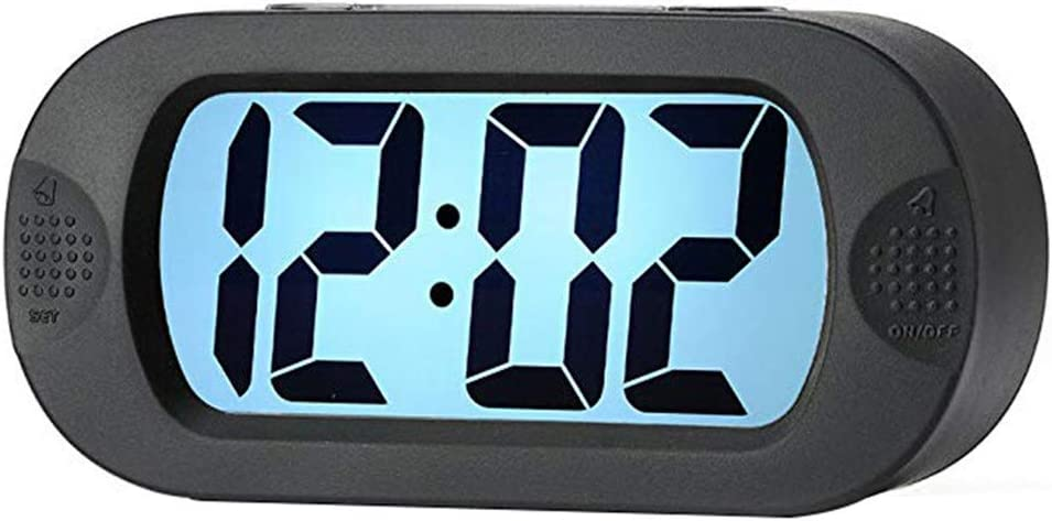 Digital Alarm Clock Backlight LCD Setting Challenge the lowest price of Japan San Jose Mall Easy Morning L