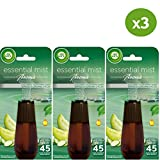 Air Wick Recharge Diffuseur d'Huiles Essentielles Essential Mist Parfum Concombre 20...