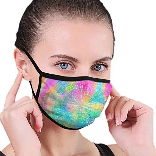 Tie-Dye-Starry Sky Outdoor-Maske, schützende 5-Lagen-Aktivkohlefilter Erwachsene Männer Frauen Bandana ELP-187