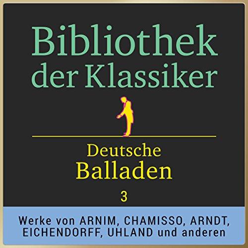 Deutsche Balladen, Teil 3 (Bibliothek der Klassiker) Titelbild