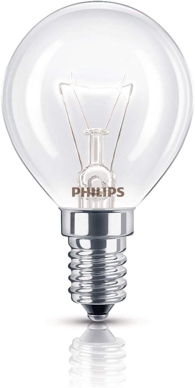 Philips Backofenlampe P45 40 Watt E14 klar