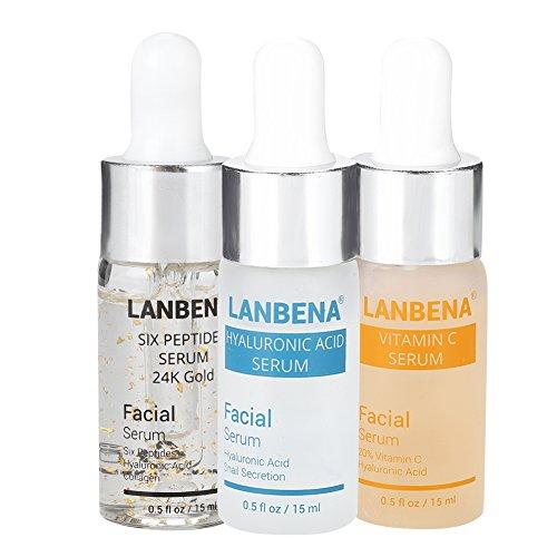 Soro facial, sérum antirrugas, antienvelhecimento e antienvelhecimento, cuidado do rosto Soro cutâneo Soro fino e hidratante remove o soro