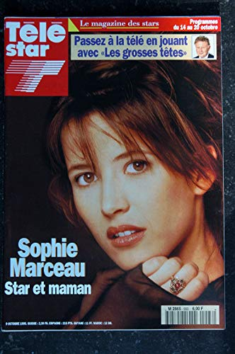 TELE STAR 1020 avril 1996 Cover KELLY Jennie GARTH - Edith PIAF - Dick RIVERS - Nastasska KINSKI