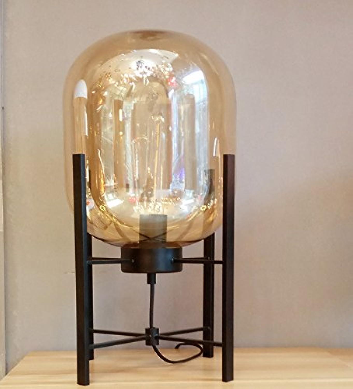 YHUJH Home Einfaches Hotel benutzerdefinierte Glas Persönlichkeit Hotelzimmer Schlafzimmer Studie Engineering Tischlampe B07K5Q7WXP   Kostengünstig