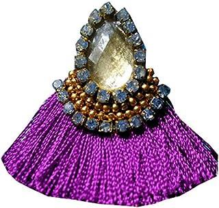 83811de71 Ailsie Diwali festival Collection Stylish Fashion Beautiful Silk Thread  Earrings 3 Cm Long Tassel Earring With