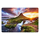 Photo Wall Art Your Picture on Custom Acrylic Glass Prints in a Variety of Sizes - Horizontal Print with Modern Standoff Hardware Included - Proudly Made in the USA