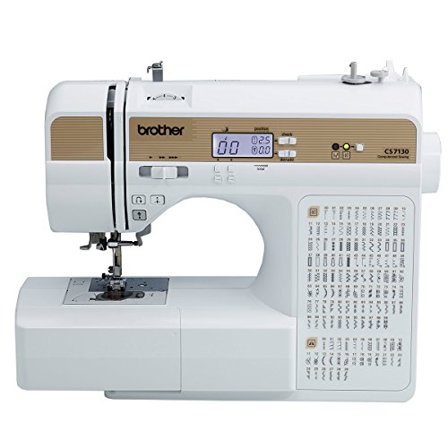 Cheap Brother 130 Built in Comp CS7130 130-Stitch Computerized Sewing Machine, Multicolor