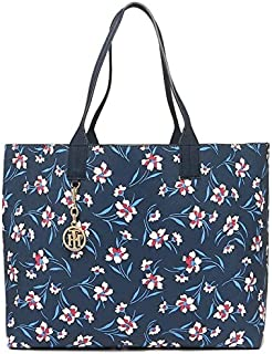 Tommy Hilfiger W86944648467 Women's Navy Blue Tote Bag