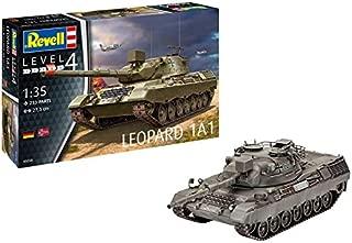 Revell- Maqueta de Tanque Leopard 1 A1, Kit Modelo, Escala 1: 35, orgin Algas fidelidad imitación con Muchos Detalles de (03258)