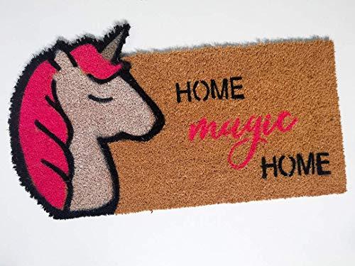 Felpudo Unicornio Mágico