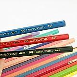 Farbstift Wasserlöslicher Farbstift Rot Schwarz Blau Farbe Blei-12 Stück / Karton_491 Pompeji Plastikstifte für Kinder