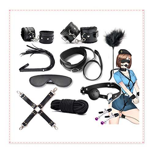 SYOneTo3 Kit di Base per Yoga, Set da 10, utilizzo Multifunzionale, Nero Àdù | t ~ Toy Fitness