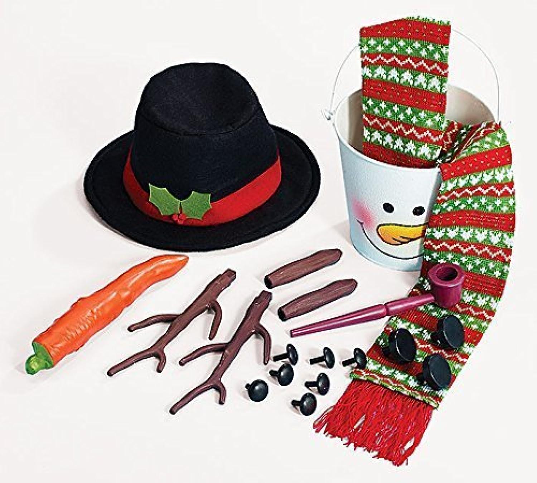 ordenar ahora Complete Snowman Snowman Snowman Kit Everything You Need To Build The Perfect Snowman by Burton & Burton  contador genuino