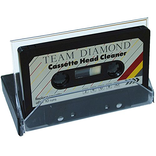 CrazyGadget® Audio Cassette Head Cleaner Tape Player Dust Cleaning Clear Sound Listen Music and Voice