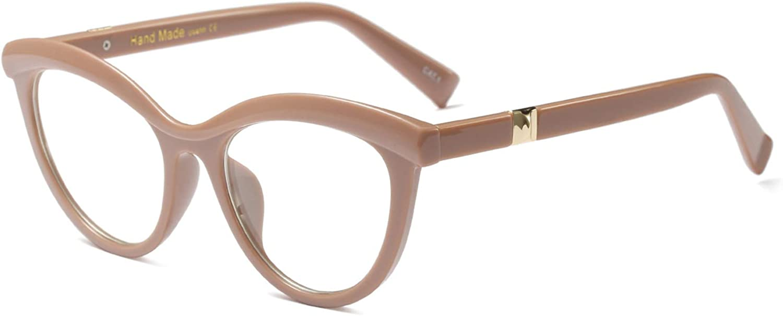 Accessori Decorativi Di Moda Retr/ò BOZEVON Occhiali Da Donna Ultraleggeri Occhiali Di Protezione Uv Blu Di Grandi Dimensioni Con Montatura