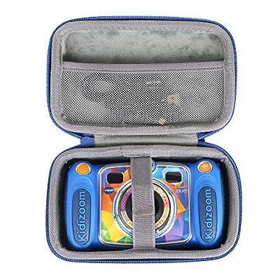 co2crea Hard Travel Case for VTech Kidizoom Duo Selfie Camera (Blue) by co2crea