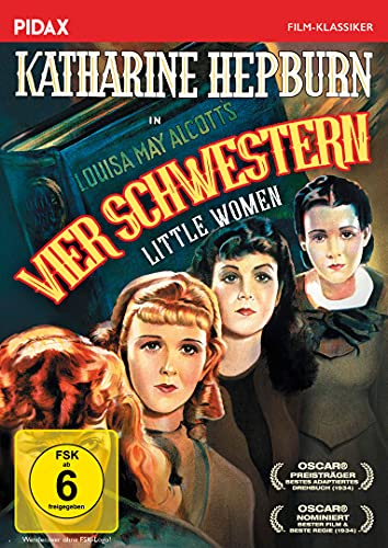 Vier Schwestern (Little Women) / Preisgekrönte Verfilmung des Romanklassikers (Pidax Film-Klassiker)