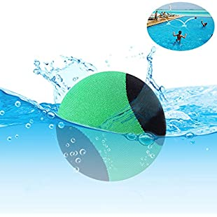 edealing Water Bouncing Ball for Pool & Sea - Fun Water Sports Game for Family and friends - Anti-cracking Soft and Strong Bounce - 2.17 Inch (Green):Abra-sua-mei