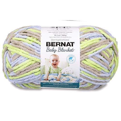 Bernat Baby Blanket Big Ball Little Boy Dove