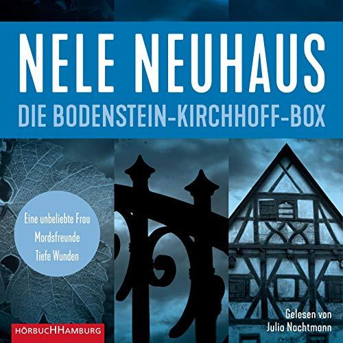 Die Bodenstein-Kirchhoff-Box: Eine unbeliebte Frau – Mordsfreunde – Tiefe Wunden: 6 CDs (Ein Bodenstein-Kirchhoff-Krimi)