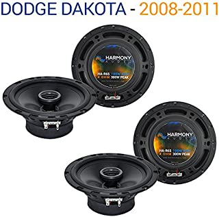 Compatible with Dodge Dakota 2008-2011 Factory Speaker Replacement Harmony (2) R65 Package New
