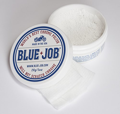 Blue-Job Chrome Polish - Perfect for Your Motorcycle! One Polish for All Your Needs