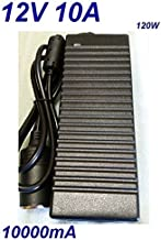 Convertidor Transformador Adaptador Alimentaci/ón Cargador Corriente AC 220V hacia DC 12V 10A 120W Cargador Coche Mechero para Nevera Frigor/ífico Congelador Frezee Mini Compresor de Aire TOP CHARGEUR